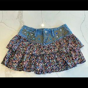 Express Jeans Southwest Skirt